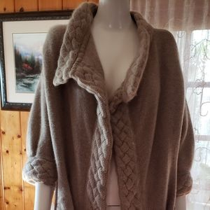 Nordstrom 100% Cashmere Open Cardigan